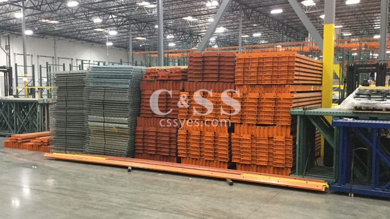 Used Warehouse Rack Materials 12