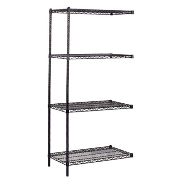 Black-Wire-Shelving-Add-On-Unit