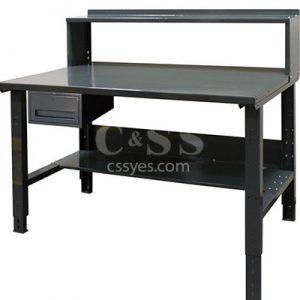 Industrial Workbench Bottom Top Shelf Drawer 6