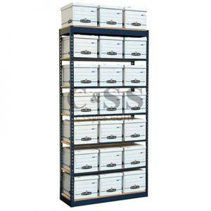 Records Storage Shelving Single High 6L