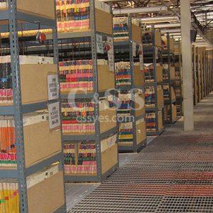 Archive Shelving Catwalk 6L