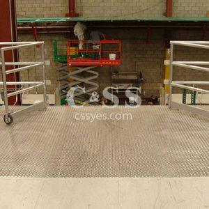 Pallet Drop Area Steel Plate Deck 6