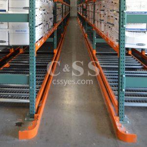 Rack Forklift Guide Rails 6L