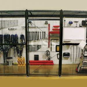 Wirecrafters Wire Partition Tool Crib Storage