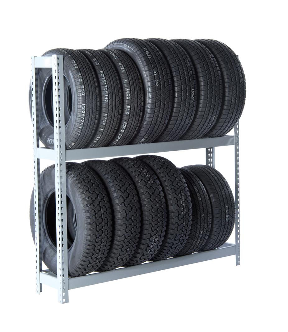 RiveTier 2 Tire Rack