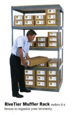 RiveTier Muffler Rack Systems