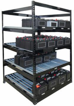 RiveTier battery rack