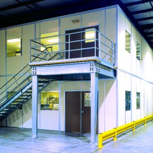 Industrial Structure Breakrooms
