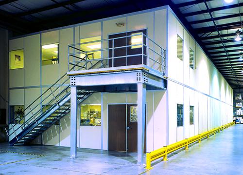 Industrial Structure Breakrooms