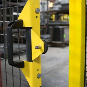 Machine Guarding Magnetic Latch Handle