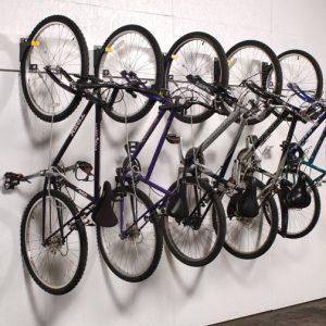 WireCrafters Multiple Bike Hanging Storage