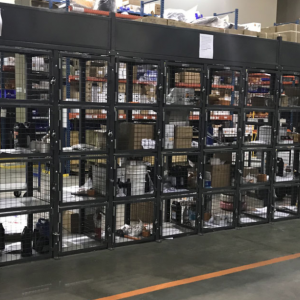 technician storage cages