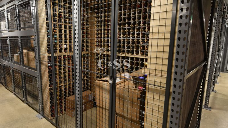 Case Studies Chateau 55 Warehouse Controls Climate And Secures Wine