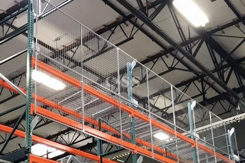 Upgraded Workplace Safety With Wire Mesh Fall Protection Installation