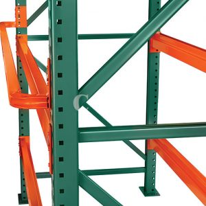 Pallet Rack Column Protectors Protect Warehouse Storage